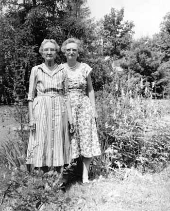 Mary Gregory Baxter & M. Louisa Baxter